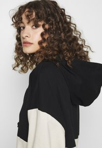 ONLY - ONLDREAMER COLOR BLOCK HOOD DRESS - Day dress - black/birch - 3