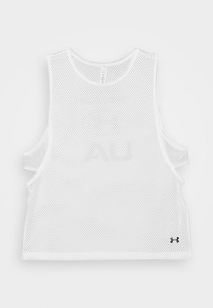 MUSCLE TANK - Sports shirt - white