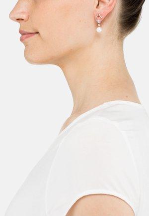 Earrings - rose goldfarbend