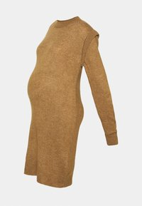 Supermom - DRESS - Stickad klänning - toasted coconut - 10