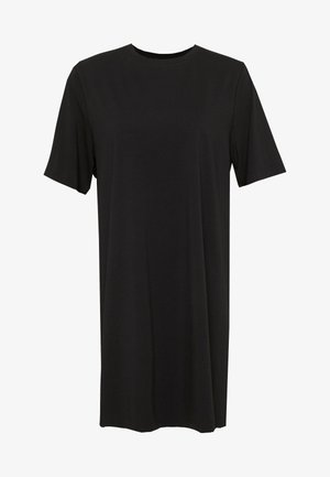 TRISH DRESS - Jersey dress - black