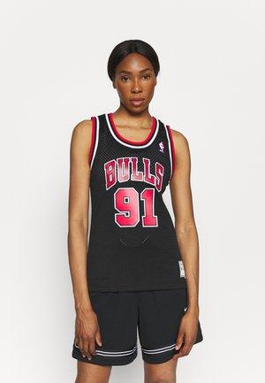 NBA DENNIS RODMAN CHICAGO BULLS WOMENS SWINGMAN - Fanartikel - black