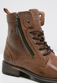 Pepe Jeans - MELTING  - Lace-up ankle boots - tobacco - 5