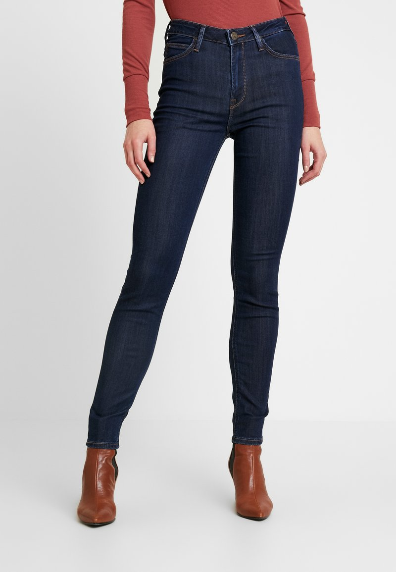 Lee - SCARLETT HIGH - Jeans Skinny Fit - tonal stonewash