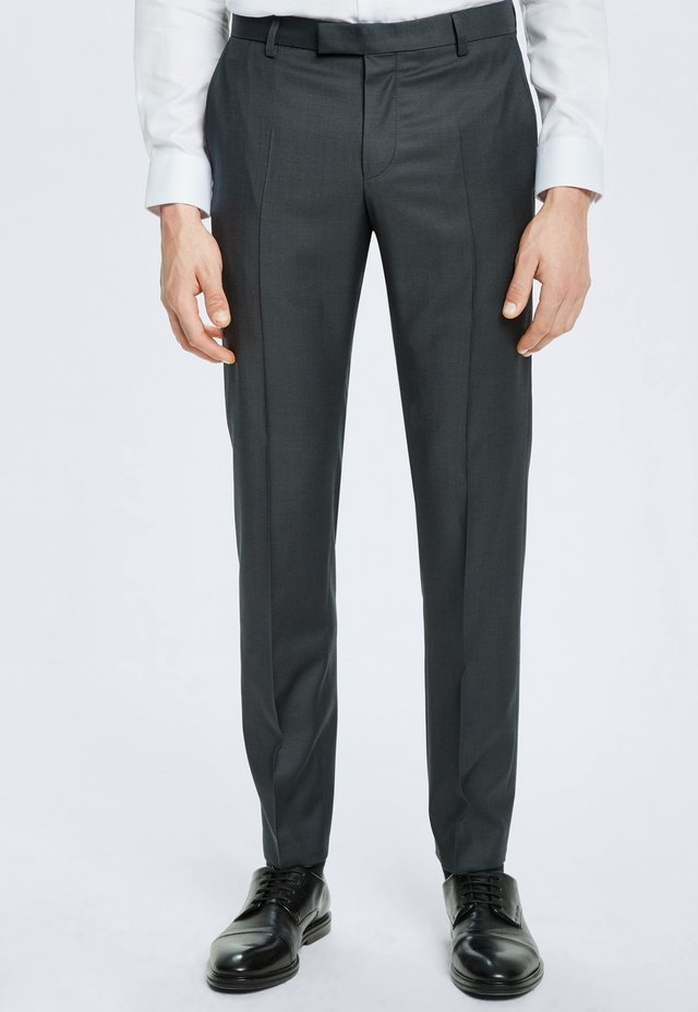 HOSE MERCER - Suit trousers - anthrazit