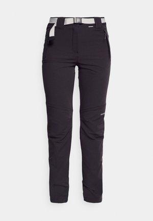 BROMLEY - Outdoorové kalhoty - anthracite