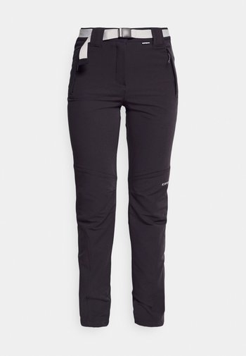 BROMLEY - Outdoor trousers - anthracite