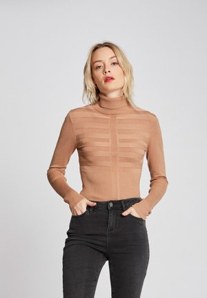 MENTOS - Jumper - brown