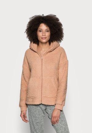 HOODED - Pyjama top - camel