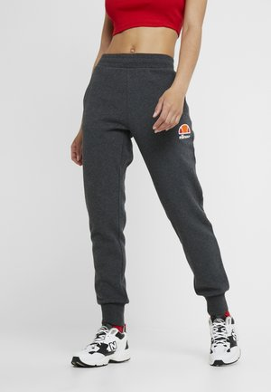 QUEENSTOWN - Tracksuit bottoms - dark grey marl