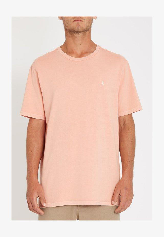 Basic T-shirt - clay_orange