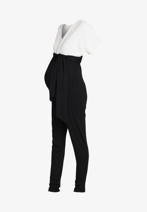 LAETICIA - Jumpsuit - black/white