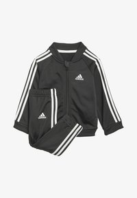 adidas Performance - 3 STRIPES TRICOT TRACKSUIT - Tracksuit - black - 0