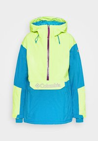Columbia - DUST ON CRUST INSULATED JACKET - Skijacke - voltage/fjord blue/plum - 4