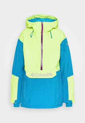 DUST ON CRUST INSULATED JACKET - Skijakke - voltage/fjord blue/plum