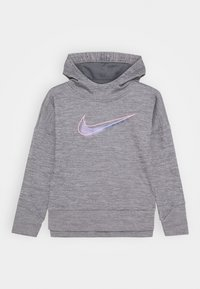 Nike Sportswear - THERMA HOODED - Hættetrøjer - carbon heather - 0