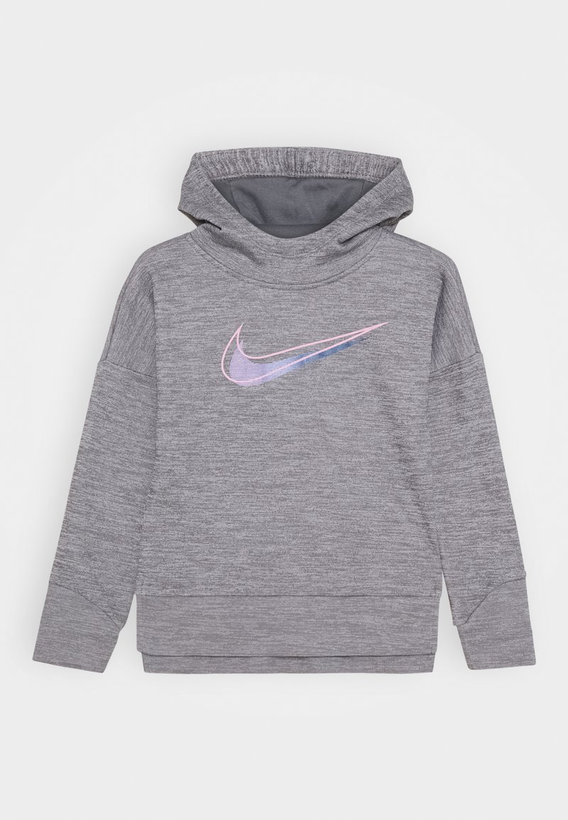 Nike Sportswear - THERMA HOODED - Mikina s kapucí - carbon heather