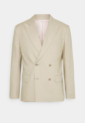 DORIAN  - Suit jacket - sand grey