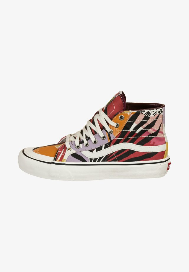Trainers - palm floral