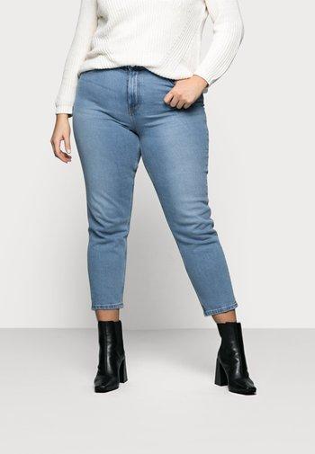 VMJOANA - Relaxed fit jeans - light blue denim