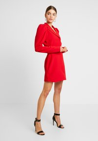 Nly by Nelly - VOLUME SLEEVE SUIT DRESS - Kjole - red - 2