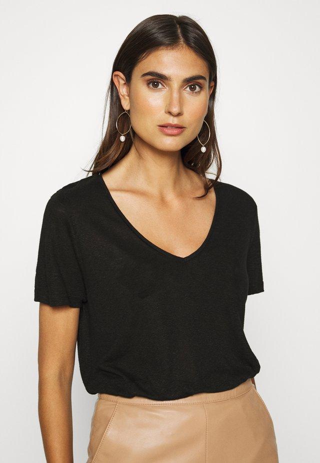 PITTA - T-shirt basique - black