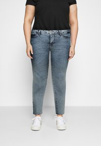 Zizzi - AMY SHAPE - Jeans Skinny Fit - stone washed - 0