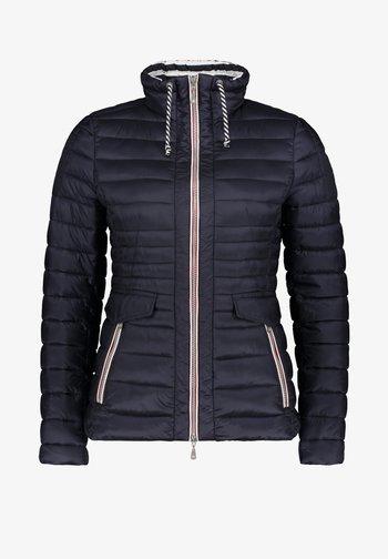 GIL BRET STEPPJACKE MIT KUNSTDAUNE - Winter jacket - donkerblauw