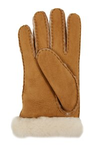 UGG - SHORTY GLOVE TRIM - Gloves - chestnut - 2