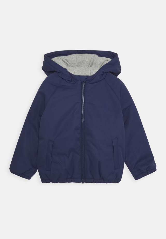 TODDLER HOODED JACKET ZIPPER - Giacca invernale - bluish