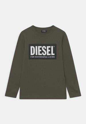 TUSTY UNISEX - Long sleeved top - dark green