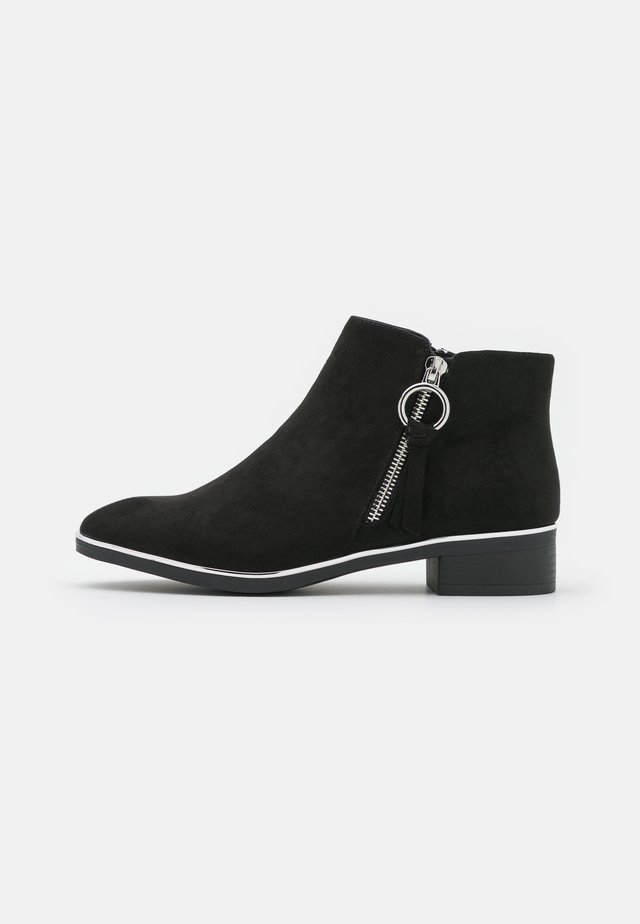 WIDE FIT DAFFODILLA - Ankelboots - black