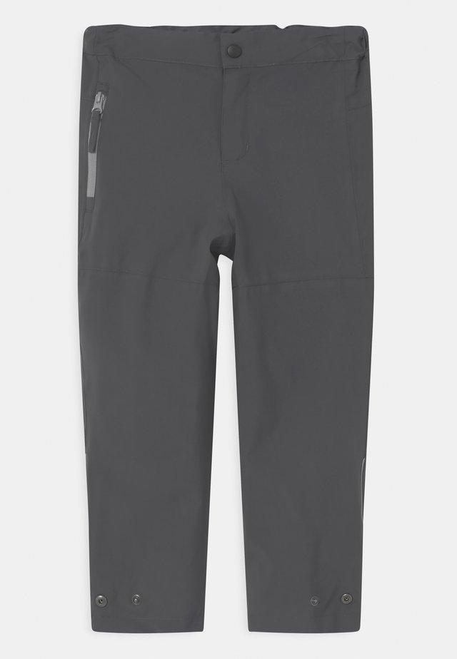 PAYTON ALLWEATHER UNISEX - Outdoor trousers - dark grey