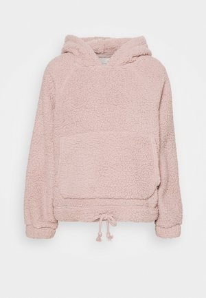 CINCH SHERPA HOODIE - Sweat à capuche - blush