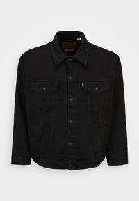 Levi's® Plus - BIG TRUCKER - Denim jacket - dark horse - 0