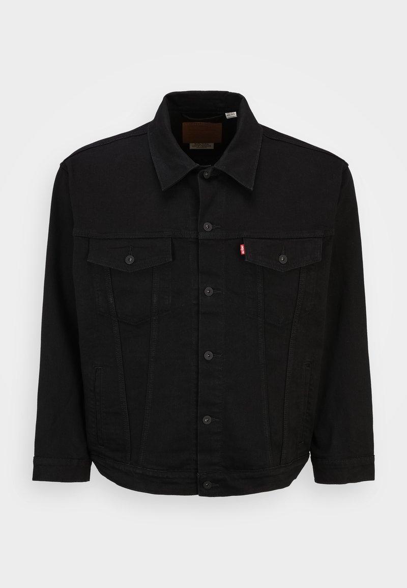 Levi's® Plus - BIG TRUCKER - Denim jacket - dark horse