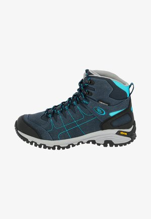 MOUNT SHASTA HIGH - Hiking shoes - blue