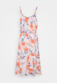 GAP Petite - MIDI TIE WAIST DRESS - Day dress - white - 1