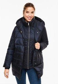 Triangle - MIT KAPUZE - Winter coat - navy - 0