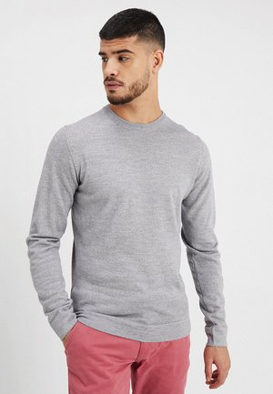 O-NECK - Pullover - grey mix