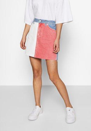 SHORT SKIRT TMYFLG - A-line skirt - coloured denim