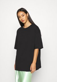 Monki - CISSI TEE - Print T-shirt - black - 0