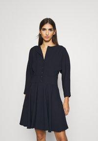 Claudie Pierlot - RAFAELO - Shirt dress - marine - 0