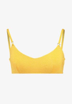 STARDUSTTANK BRA - Bikini top - saffron