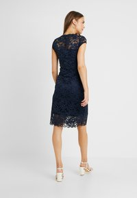 MAMALICIOUS - MLNEWMIVANA CAP DRESS - Cocktailjurk - navy blazer