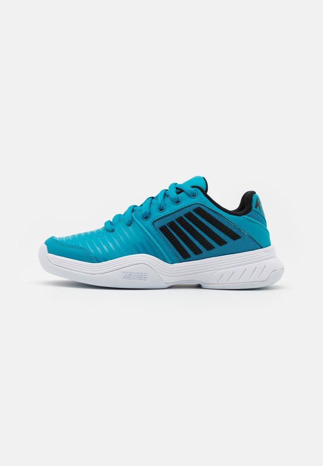 COURT EXPRESS CARPET UNISEX - Scarpe da tennis per terreno sintetico - algiers blue/black/white