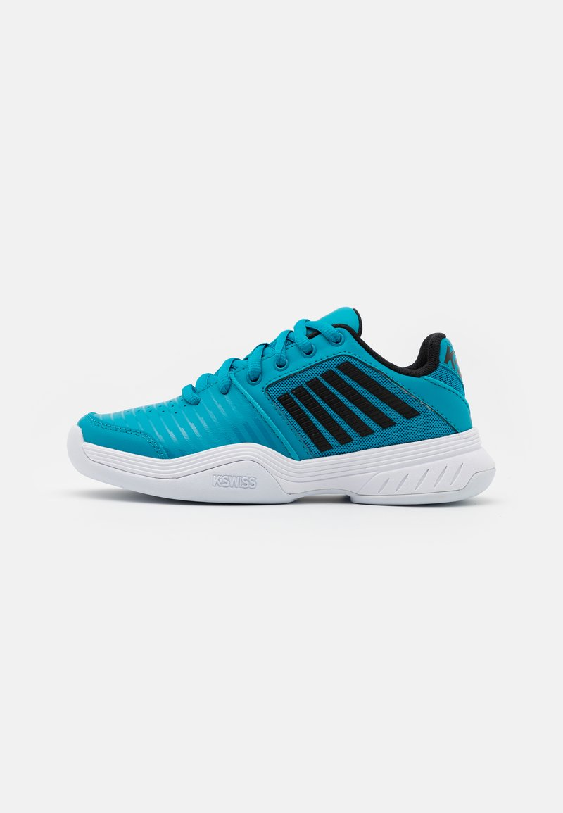 K-SWISS - COURT EXPRESS CARPET UNISEX - Carpet court tennis shoes - algiers blue/black/white