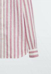Massimo Dutti - Shirt - bordeaux - 5