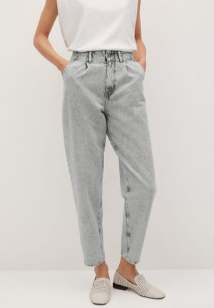CORINNA - Jean droit - denim grey