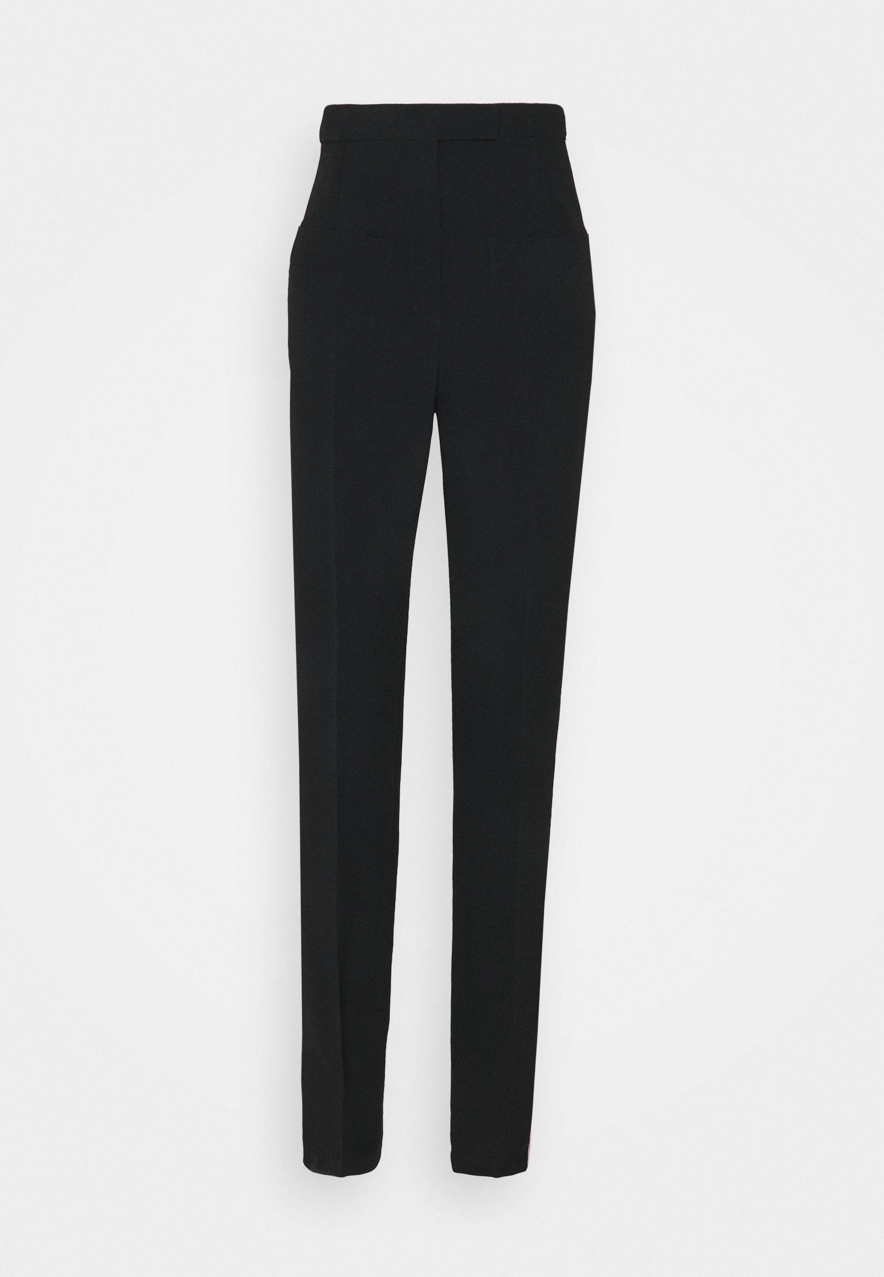 Femme SIDE STRIPE TROUSER - Pantalon classique